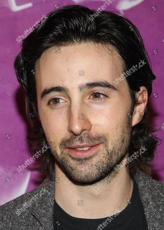 """Stock Picture of Actor Josh Zuckerman arrives at the west coast special screening of """"CBGB"""" at ArcLight Hollywood on in Los Angeles"""