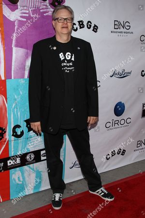 """Stock Picture of Producer Brad Rosenberger arrives at the west coast special screening of """"CBGB"""" at ArcLight Hollywood on in Los Angeles"""