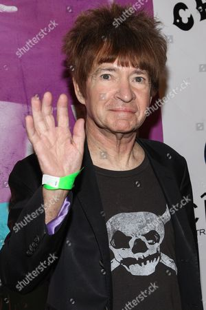 """Radio personality Rodney Bingenheimer arrives at the west coast special screening of """"CBGB"""" at ArcLight Hollywood on in Los Angeles"""