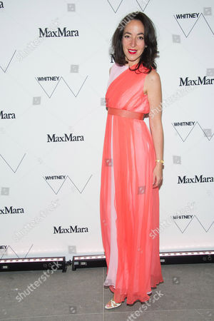 Pamela Golbin attends the Whitney Museum of American Art's opening night party at it's new downtown location, in New York