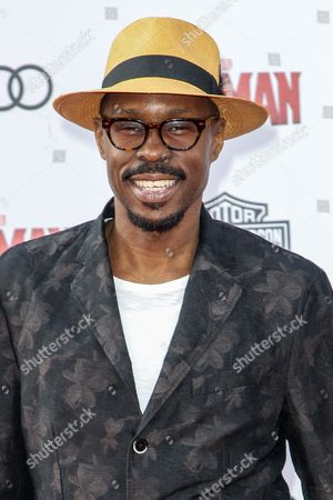 Wood Harris attends the world premiere of Marvel's 'Ant-Man' at the Dolby Theatre on in Los Angeles