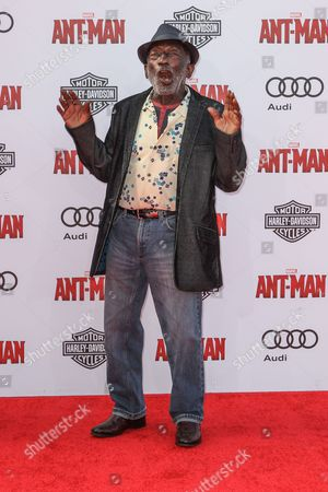 Garrett Morris attends the world premiere of Marvel's 'Ant-Man' at the Dolby Theatre on in Los Angeles
