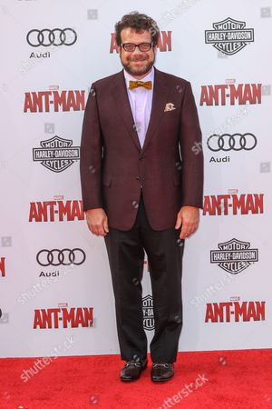 Christophe Beck attends the world premiere of Marvel's 'Ant-Man' at the Dolby Theatre on in Los Angeles