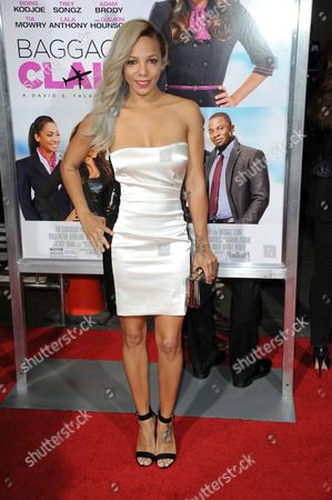 """Po Johnson arrives at the world premiere of """"Baggage Claim"""" at the Premiere House at Regal Cinemas L.A. Live on in Los Angeles"""