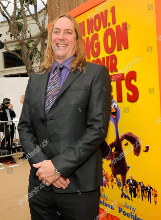 "Cast member Danny Carey poses at the world premiere of ""Free Birds"" at the Regency Village Theater on in Los Angeles"