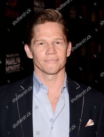 """Actor Jack Noseworthy attends the world premiere of the television miniseries """"The Secret Life of Marilyn Monroe"""" in Los Angeles on"""