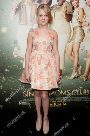 """Cassie Brennan arrives at the world premiere of """"The Single Moms Club"""",, in Los Angeles"""