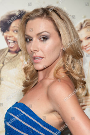 "Allison McAtee arrives at the world premiere of ""The Single Moms Club"",, in Los Angeles"