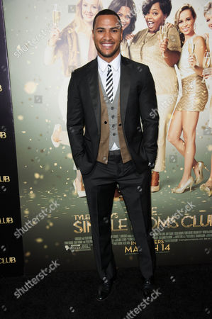 "Andre Hall arrives at the world premiere of ""The Single Moms Club"", in Los Angeles"