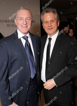 Stock Photo of Mark Rolston and Executive Producer Larry Sanitsky attend the Premiere of Lifetime's Whitney at the Paley Center on in Beverly Hills, Calif