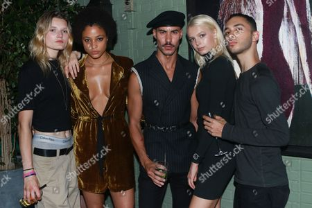 Editorial image of V 109 Launch Party, Gramercy Park Hotel, New York, USA - 13 Sep 2017