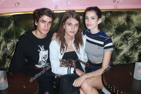 Editorial photo of V 109 Launch Party, Gramercy Park Hotel, New York, USA - 13 Sep 2017