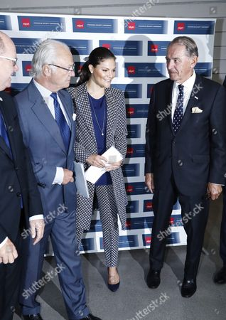 King Carl Gustaf, Crown Princess Victoria, Jan Eliasson