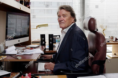 """60 Minutes"""" correspondent Steve Kroft works in his office for an upcoming show, in the """"60 Minutes"""" offices, in New York, . CBS' """"60 Minutes,"""" the newsmagazine that can credit consistency for much of its success as it enters its 50th anniversary year"""