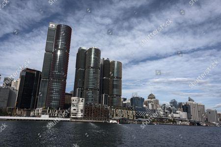 Barangaroo towers