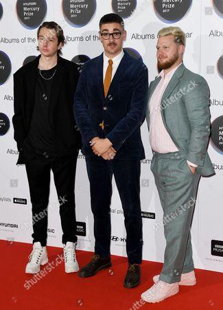 Stock Image of Alt-J - Thom Green, Gus Unger-Hamilton and Joe Newman