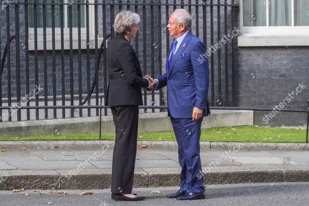 Theresa May, Najib Tun Razak