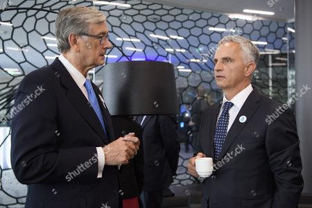 Didier Burkhalter and Danilo Tuerk