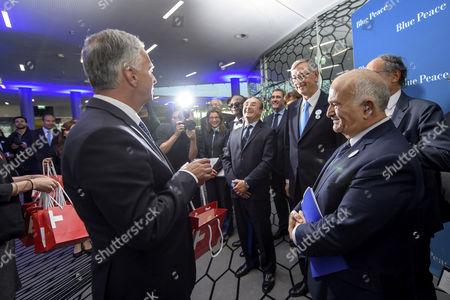 Didier Burkhalter, Danilo Tuerk and Prince El Hassan Bin Talal