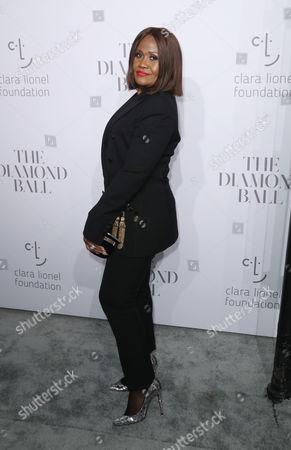 Editorial image of Rihanna's 3rd Annual Clara Lionel Foundation Diamond Ball, Arrivals, Cipriani Wall Street, New York, USA - 14 Sep 2017