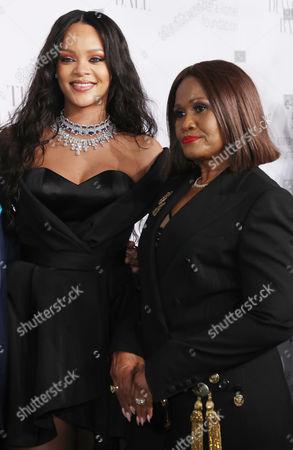 Stock Image of Rihanna and Monica Fenty