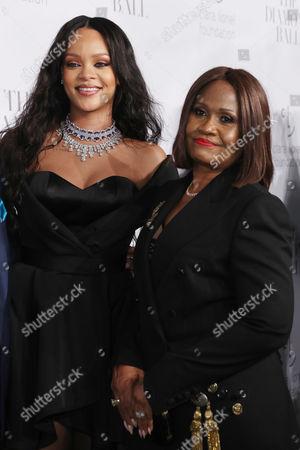 Editorial photo of Rihanna's 3rd Annual Clara Lionel Foundation Diamond Ball, Arrivals, Cipriani Wall Street, New York, USA - 14 Sep 2017