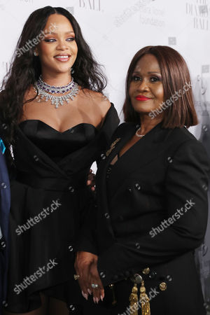 Stock Picture of Rihanna and Monica Fenty