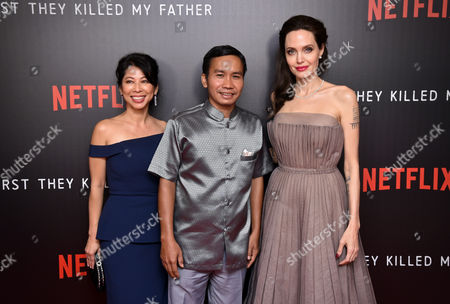 Editorial image of 'First They Killed My Father' film screening, New York, USA - 14 Sep 2017