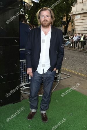 Director Janus Metz poses for photographers upon arrival at the premiere of the film 'Borg Vs McEnroe' in London