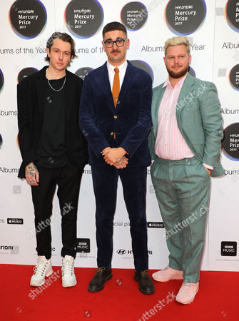 Editorial picture of Mercury Prize Albums of the Year, Arrivals, London, UK - 14 Sep 2017