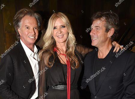 Richard Caring, Amanda Wakeley and Hugh Morrison