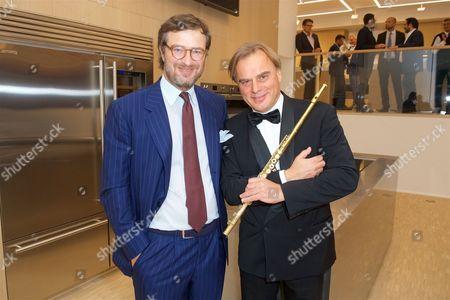 Vittorio Bertazzoni (CEO SMEG) and Andrea Griminelli