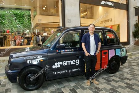 Editorial photo of Smeg flagship store opening, St James's, London, UK - 14 Sep 2017