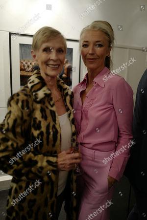 Pauline Stone and Tamara Beckwith