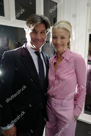 Tamara Beckwith and Giorgio Veroni