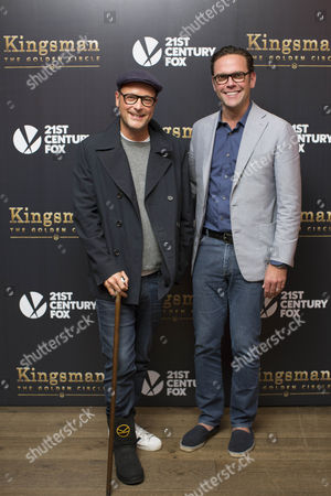 Matthew Vaughn and James Murdoch