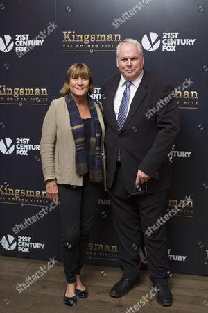 Adam Boulton & wife Anji Hunter