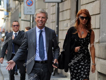 Editorial photo of Enrico Preziosi out and about, Milan, Italy - 13 Sep 2017