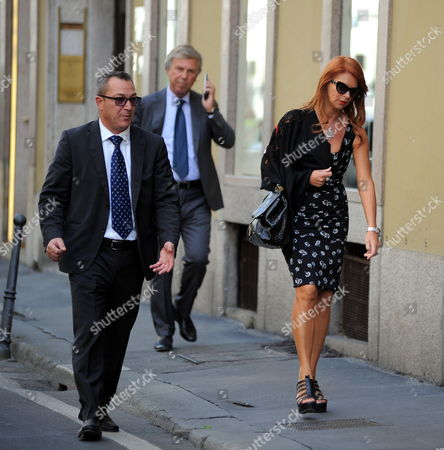 Editorial picture of Enrico Preziosi out and about, Milan, Italy - 13 Sep 2017