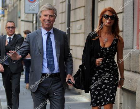 Enrico Preziosi and wife