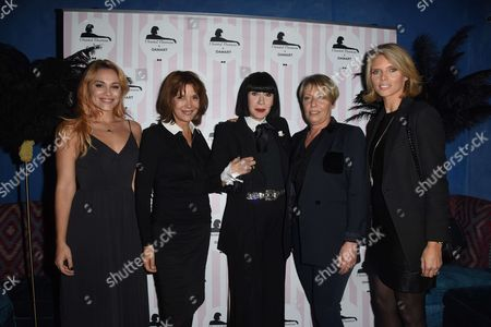 Stock Photo of Joy Esther, Tina Kieffer, Chantal Thomass, Sylvie Tellier