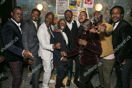Ian Carlyle (Four-Eyed Moe), Dex Lee (Know Moe), Clarke Peters (Director), Omari Douglas (Ensemble), Nathaniel Morrison (Ensemble), Emile Ruddock (Eat Moe), Idriss Kargbo (Little Moe), Horace Oliver (Big Moe) and Edward Baruwa (Nomax)
