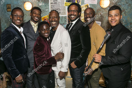 Ian Carlyle (Four-Eyed Moe), Dex Lee (Know Moe), Idriss Kargbo (Little Moe), Clarke Peters (Director), Edward Baruwa (Nomax), Horace Oliver (Big Moe) and Emile Ruddock (Eat Moe)