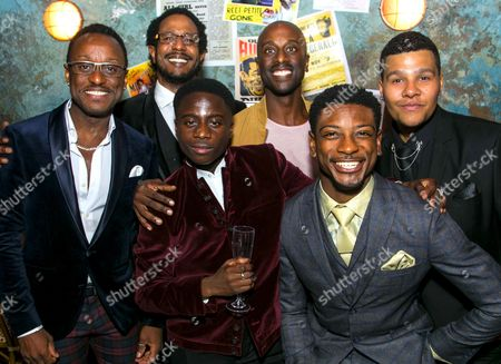 Editorial picture of 'Five Guys Named Moe' party, Press Night, London,  - 14 Sep 2017