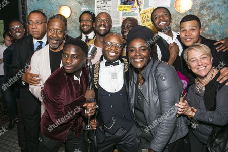 Clarke Peters (Director), Sharon D Clarke, Susie McKenna and members of the cast