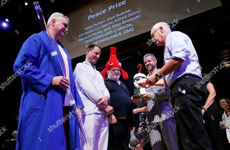 Editorial photo of Ig Nobels, Cambridge, USA - 14 Sep 2017