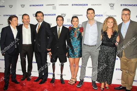 David Gordon Green, Micheal Litvak, Jake Gyllenhaal, Jeff Bauman, Tatiana Maslany, Todd Lieberman, Riva Marker and Eric d'Arbeloff