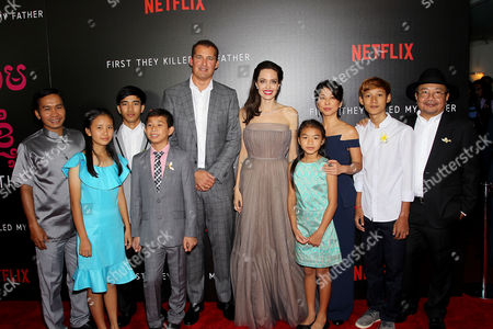 Editorial photo of New York Premiere of Netflix Film's 'First They Killed My Father', New York, USA - 14 Sep 2017