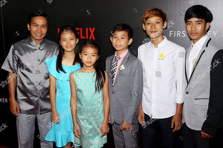 Editorial picture of New York Premiere of Netflix Film's 'First They Killed My Father', New York, USA - 14 Sep 2017