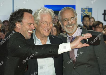 Walton Goggins, Richard Gere and Jon Avnet
